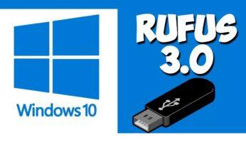 Descargar Rufus USB para Windows