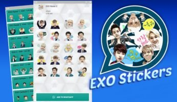 Descargar EXO Stickers para WhatsApp
