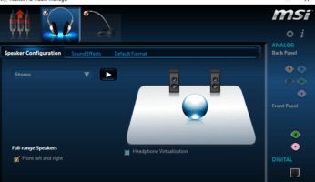 Descargar Realtek HD Audio Manager para Windows