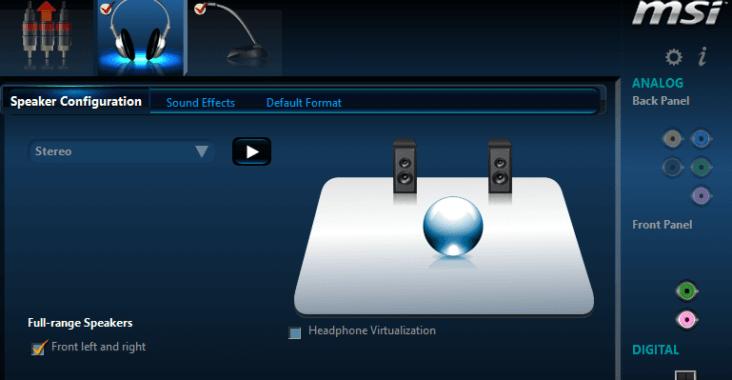 Descargar Realtek HD Audio Manager para Windows