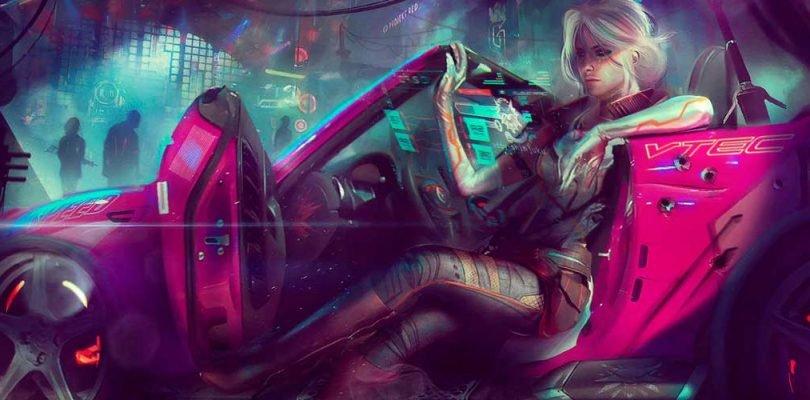 Cyberpunk 2077 personake