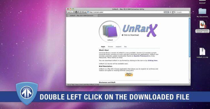 Descargar UnRarX para Mac